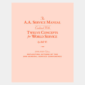 A.A. Service Manual/Twelve Concepts for World Service Large Print