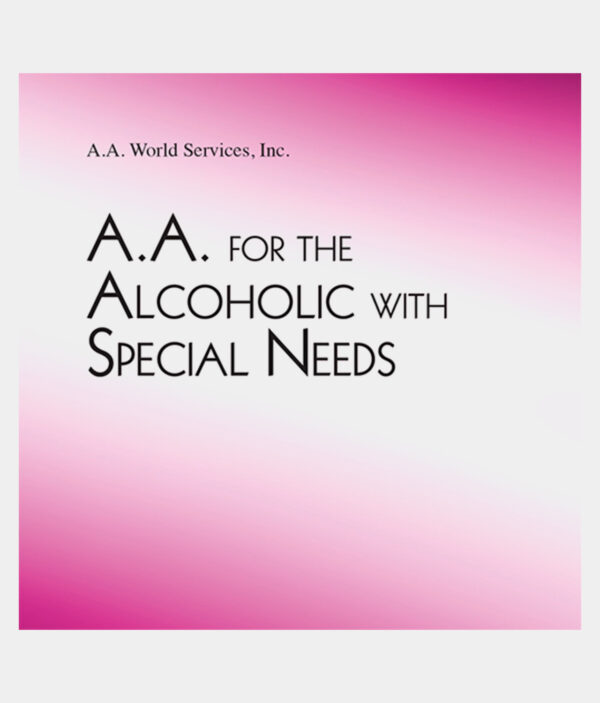 A.A. For The Alcoholic With Special Needs DVD