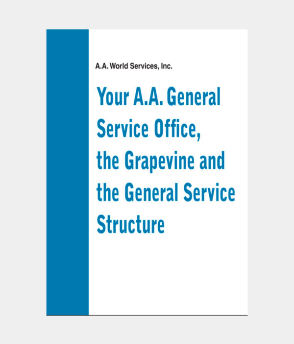 Your A.A. G.S.O. The Grapevine & General Service Structure DVD