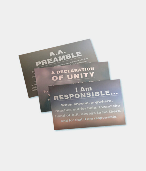Set-Responsibility & Preamble Placards