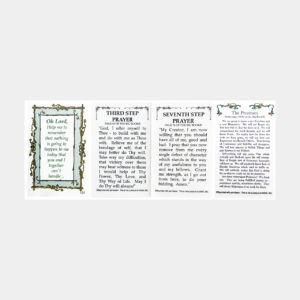 Promises / 3rd. & 7th. Step Prayers Wallet Card