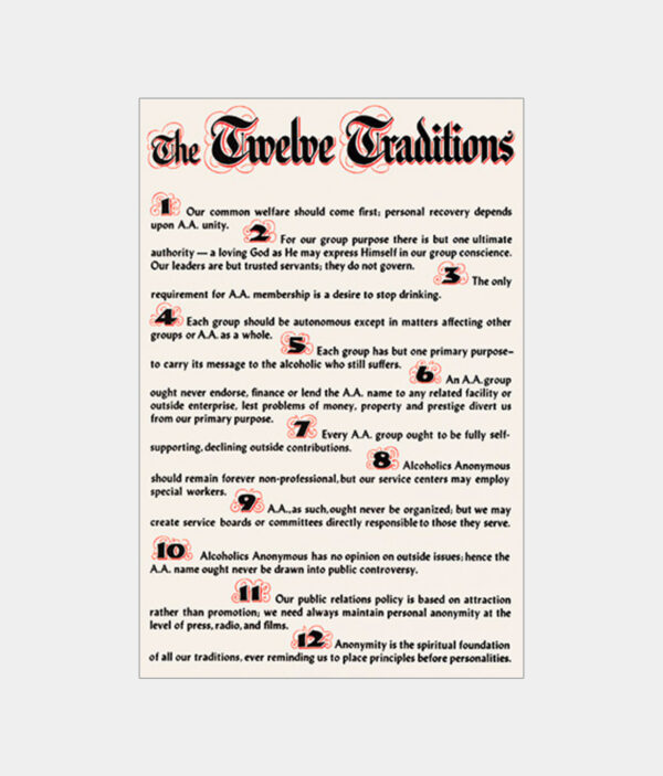 Twelve Traditions Parchment