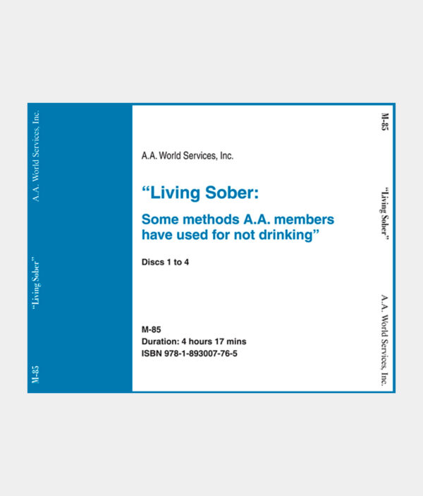 Living Sober CD