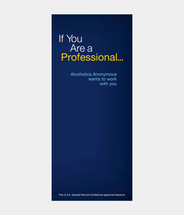 If You Are a Professional...