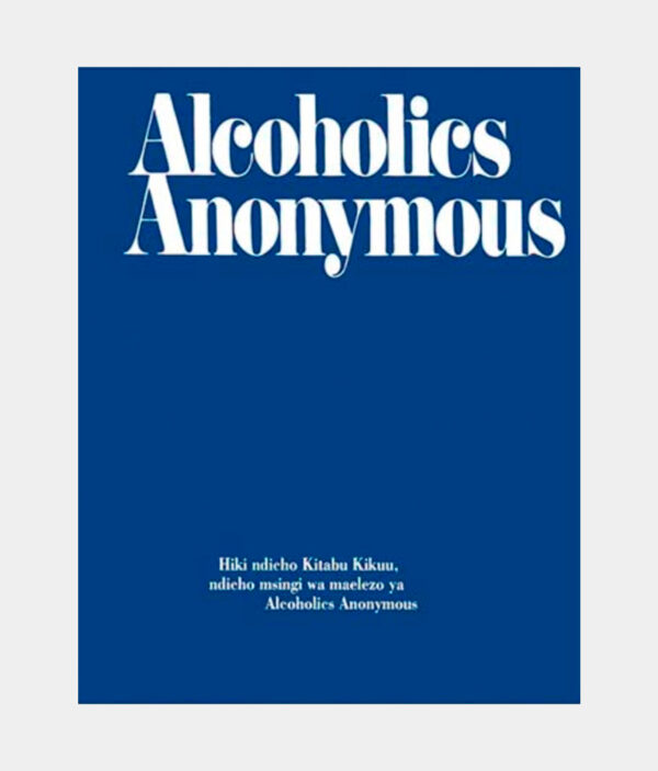 Alcoholics Anonymous Swahili Softcover
